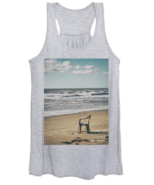 Solo On The Beach Women's Tank Top