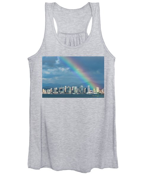Somewhere Under Women's Tank Top