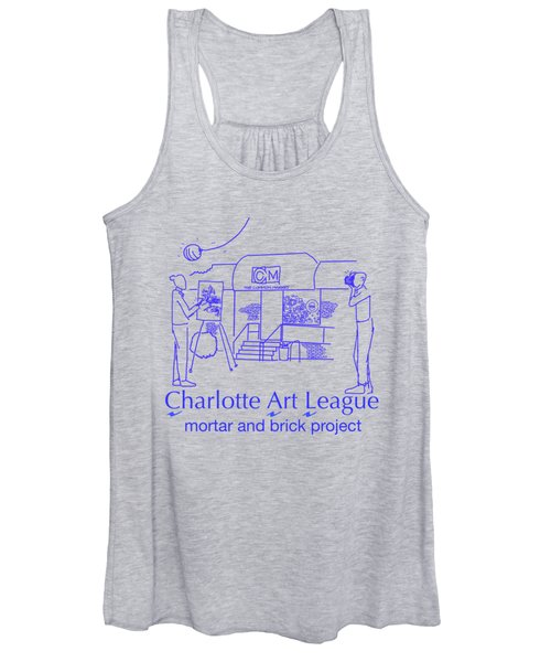 South End Of The Common Market With Text Women's Tank Top