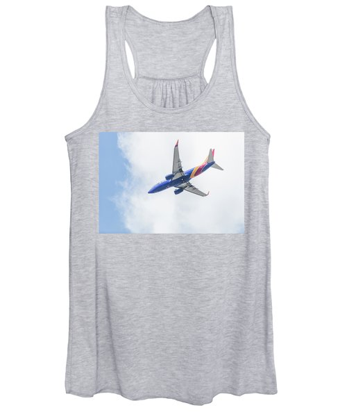 Southwest Airlines With A Heart Women's Tank Top