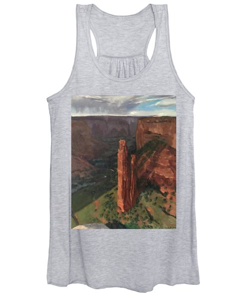 Spider Rock, Canyon De Chelly Women's Tank Top