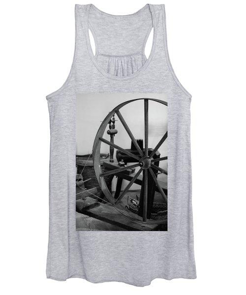 Spinning Wheel At Mount Vernon Women's Tank Top