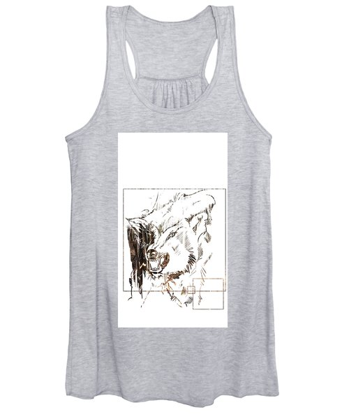 Spirit Animal . Wolf Women's Tank Top