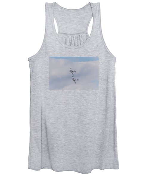Spitfire Formation Pair Women's Tank Top