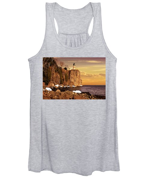 Split Rock Lighthouse Women's Tank Top