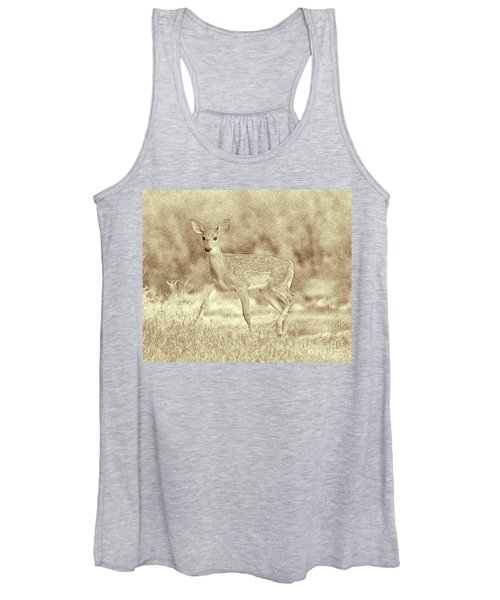 Spotted Fawn Women's Tank Top