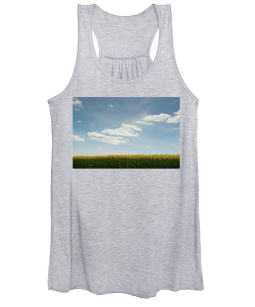 Spring Day Clouds Women's Tank Top
