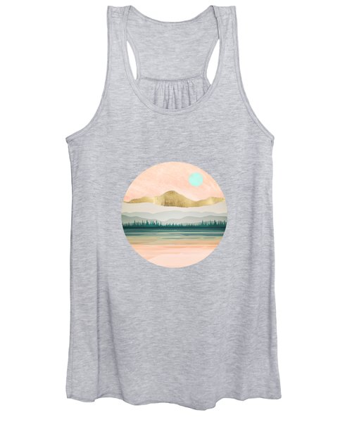 Spring Forest Lake Women's Tank Top