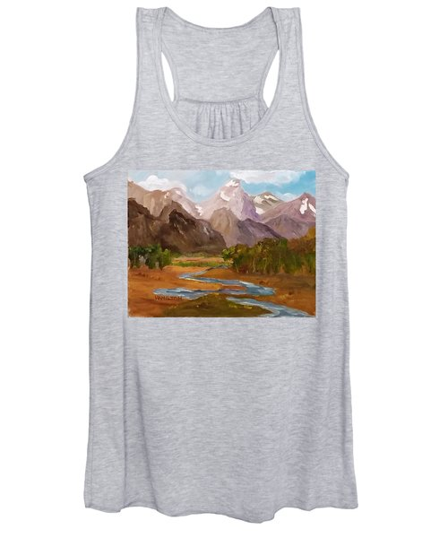 Spring In The Tetons Women's Tank Top