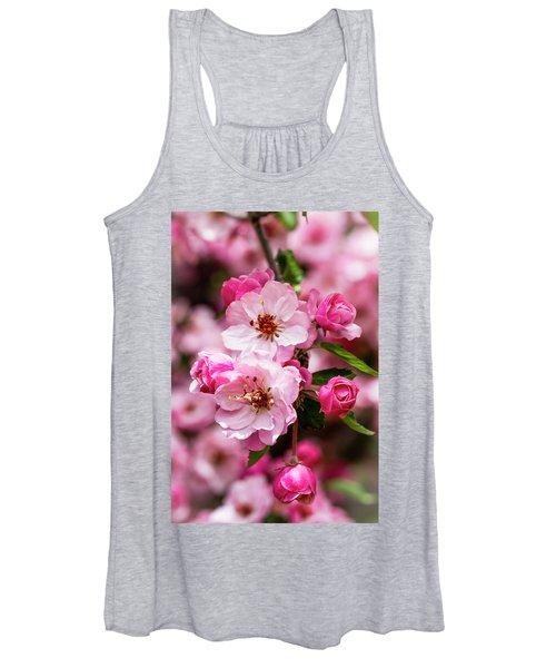 Spring Pink Women's Tank Top