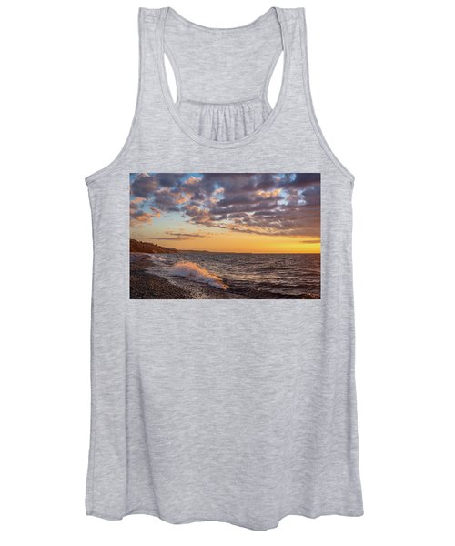 Springtime On Agate Beach Women's Tank Top