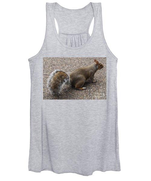 Squirrel Side Women's Tank Top