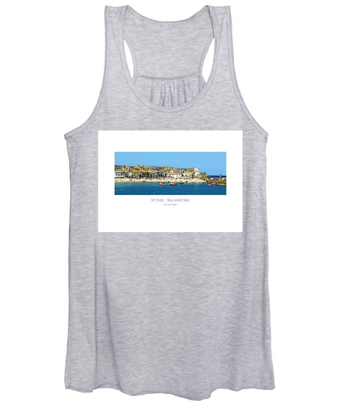 St Ives Sea And Sky Women's Tank Top