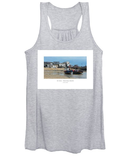 St Ives - Waiting Boats Women's Tank Top