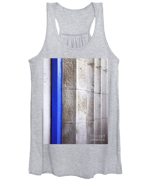 Women's Tank Top featuring the photograph St. Sylvester's Doorway by Rick Locke