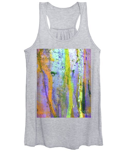 Stains Of Paint Women's Tank Top