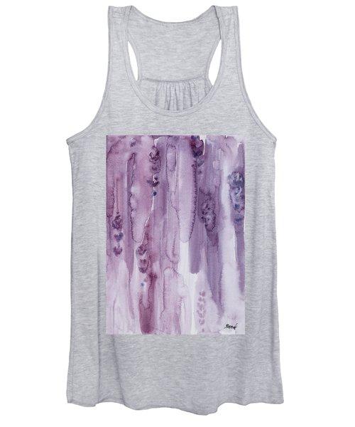 Stalks Of Lavender Women's Tank Top