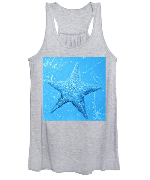 Starfish In Blue Women's Tank Top