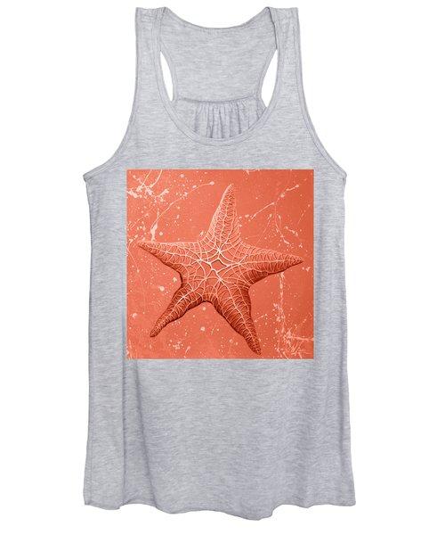 Starfish In Pink Women's Tank Top