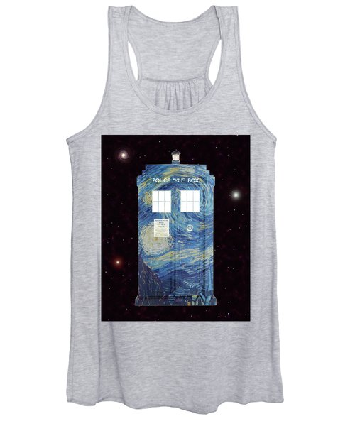 Starry Starry Night Women's Tank Top
