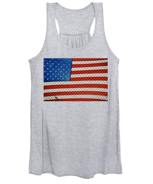 Stars And Stripes  Women's Tank Top