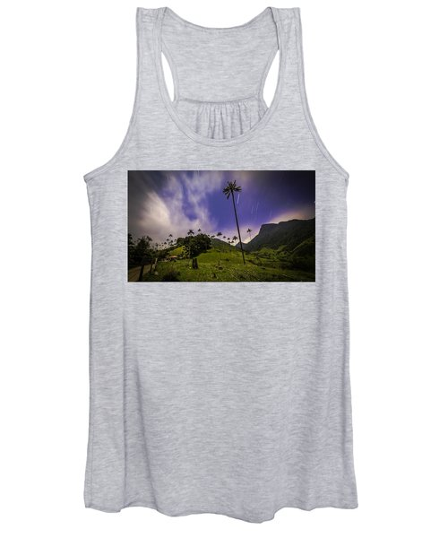 Stars In The Valley Women's Tank Top