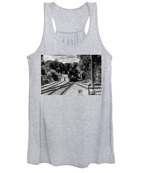 Steam Train Women's Tank Top