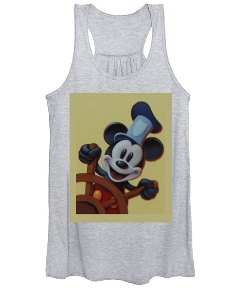 Steamboat Willy Women's Tank Top