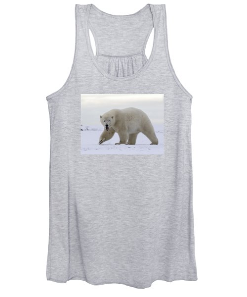 Stepping Out In The Arctic Women's Tank Top