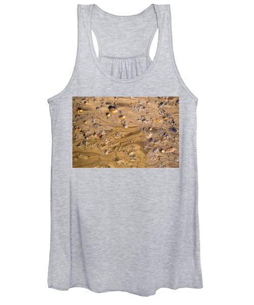 Stones In A Mud Water Wash Women's Tank Top