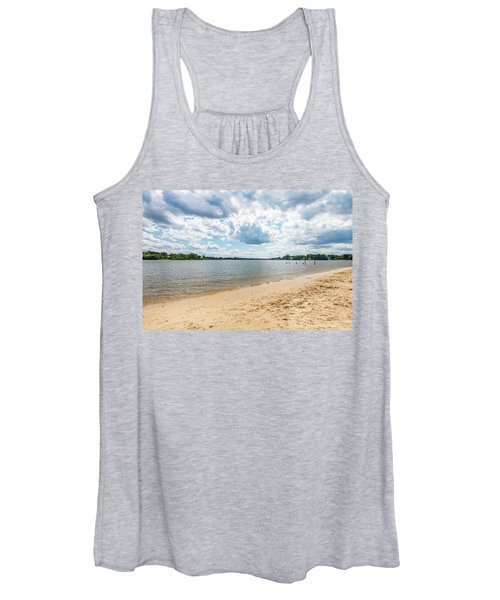 Sand, Sky And Water Women's Tank Top
