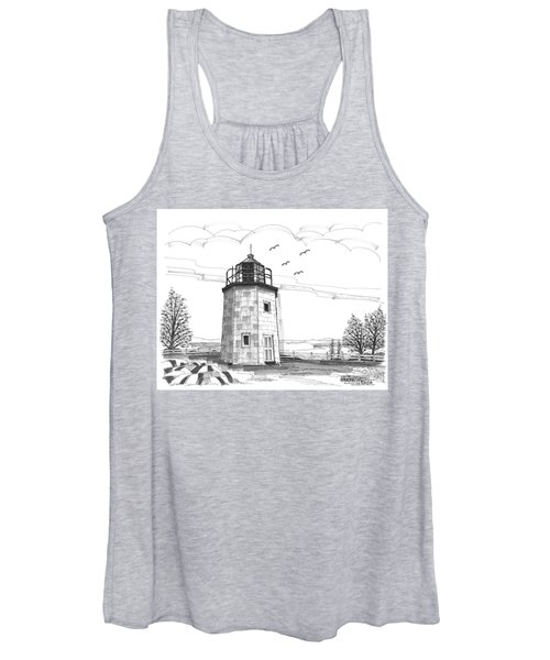 Stony Point Lighthouse Women's Tank Top