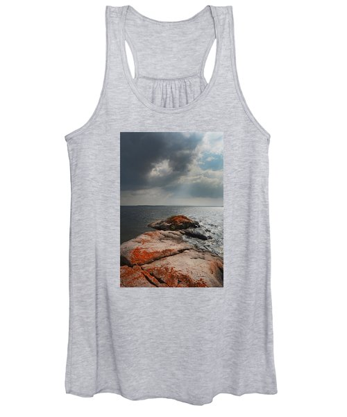 Storm Clouds Over Wall Island Women's Tank Top