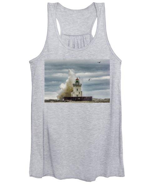 Storm On Lake Erie Women's Tank Top