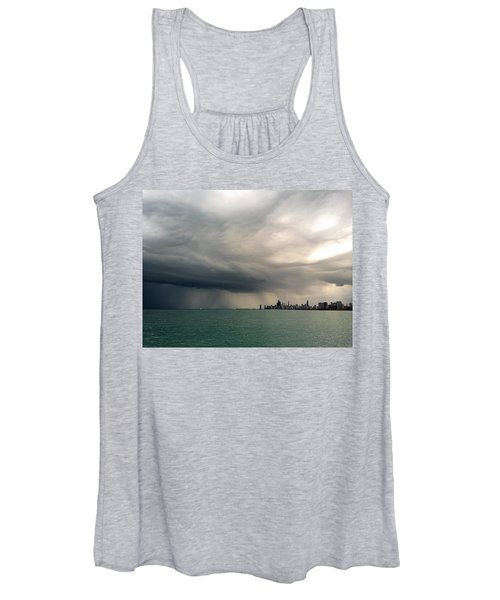 Storms Over Chicago Women's Tank Top