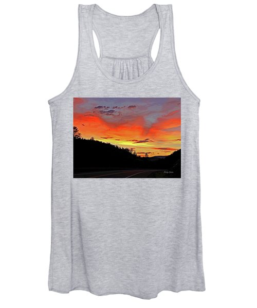 Stormy Sunset Women's Tank Top
