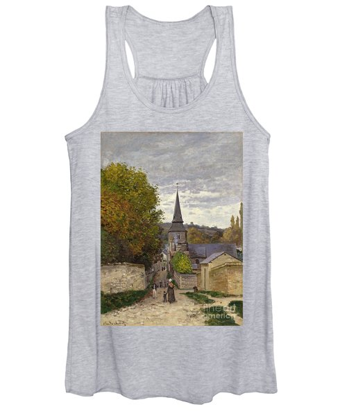 Street In Sainte Adresse Women's Tank Top