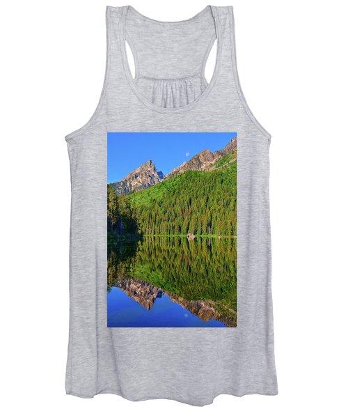 String Lake Morning Mirror Women's Tank Top