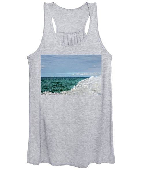 Stunning Turquoise, Green, And Blue Women's Tank Top