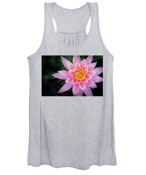 Stunning Water Lily Women's Tank Top