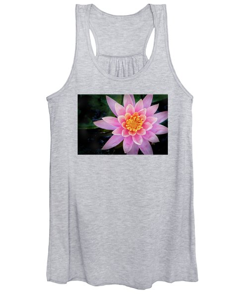 Stunning Water Lily Women's Tank Top
