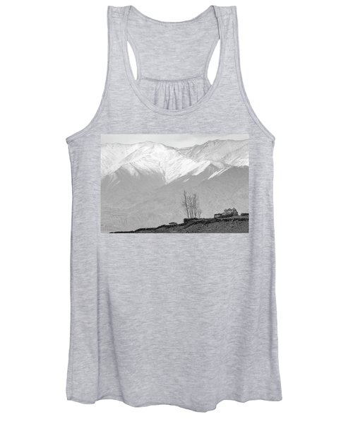 Stupa And Trees Women's Tank Top