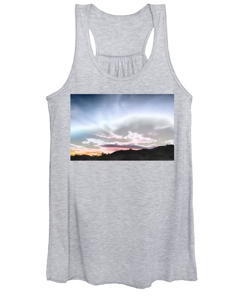 Submarine In The Sky Women's Tank Top