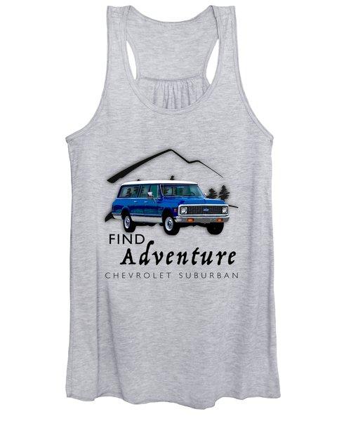 Suburban Adventure Women's Tank Top