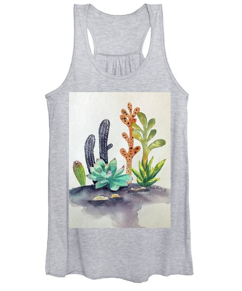 Succulents Desert Women's Tank Top