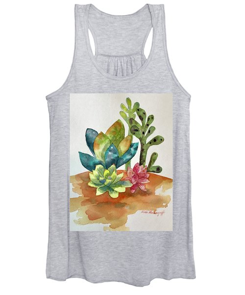 Succulents Women's Tank Top