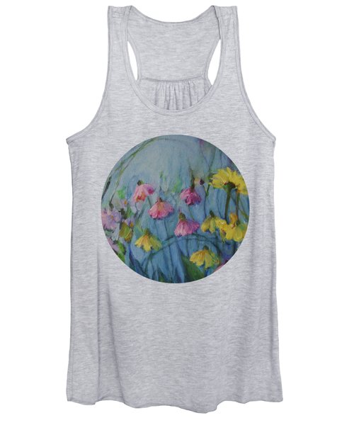 Summer Flower Garden Women's Tank Top
