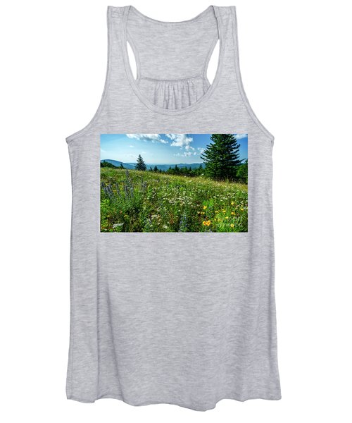 Summer Flowers In The Highlands Women's Tank Top