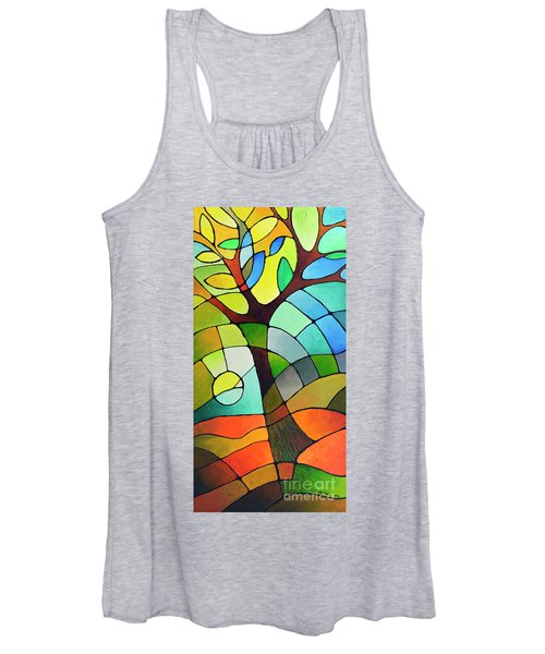 Summer Tree Women's Tank Top