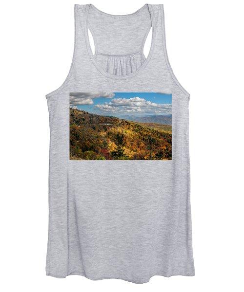 Sun Dappled Mountains Women's Tank Top